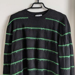 & Other Stories Sweater Green/Black